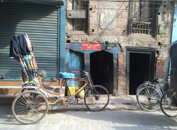 Nepalese Rickshaw