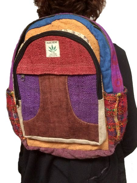 Himalayan Backpack Hemp Backpack Himalayan Handmades
