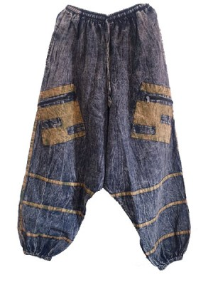 Harem hippie pants