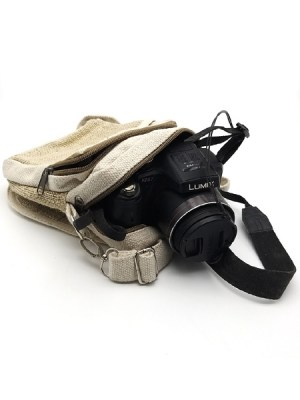 Pure hemp camera bag