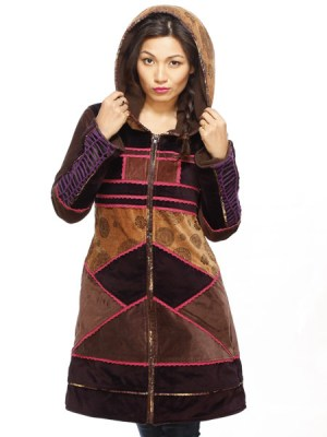 Mongolian Bohemian jacket from Nepal