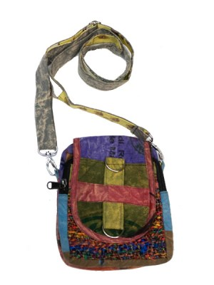 Hippie passport bag