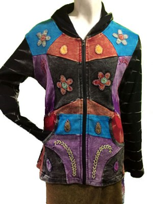 hippie-patch-flower-hoodie