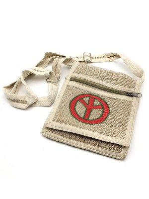 Pure cotton shoulder bag from Nepal