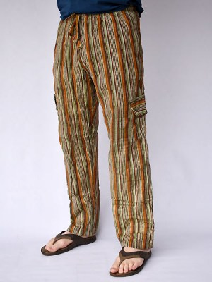 stripe-cotton-Nepalese-trousers