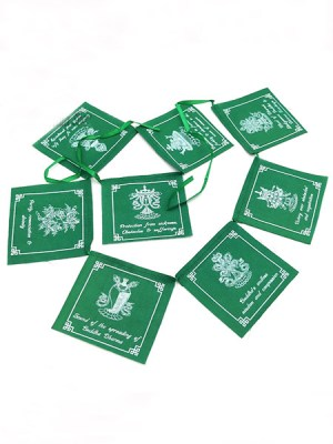 Auspicious Symbol Prayer Flags