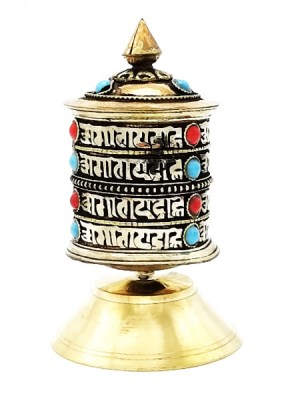 Tibetan Stand Prayer Wheel
