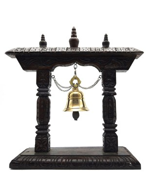 Wooden Stand Bell