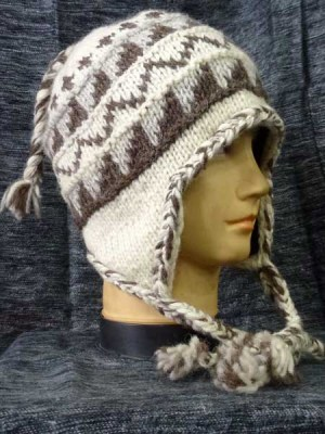 Natural sherpa hats